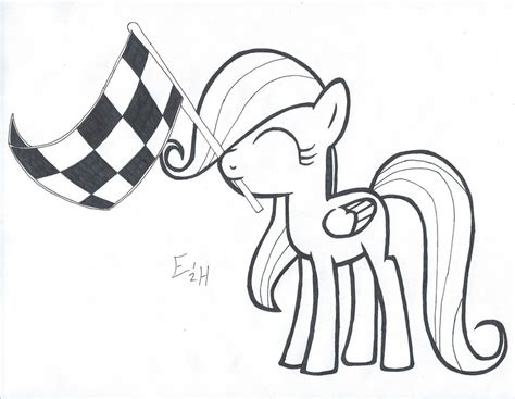 My Little Pony Applejack Ausmalbilder : Ausmalbilder Filly Kostenlos