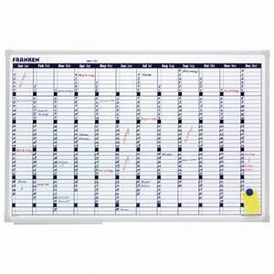Tableau Blanc Magnétique : tableau blanc calendrier annuel tableau de planning franken ~ Teatrodelosmanantiales.com Idées de Décoration
