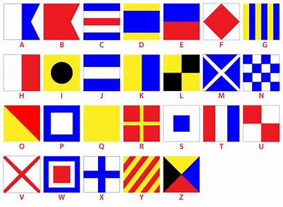 Flags Nautical Flag Alphabet Letters Code Phonetic