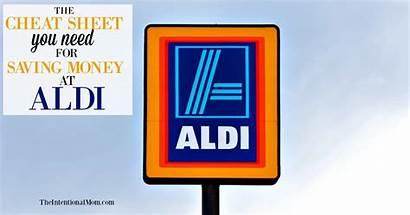 Cheat Aldi Sheet Money Saving Theintentionalmom Grocery
