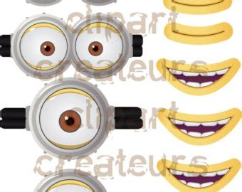 minion mouth clipart clipground