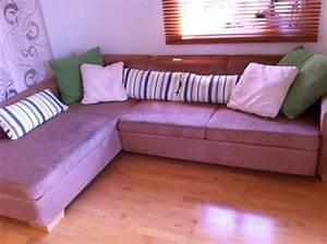 Gemütliche Sessel Kaufen : gem tliche couch mit ausziehfunktion in cappuccino in sauerlach polster sessel couch kaufen ~ Indierocktalk.com Haus und Dekorationen