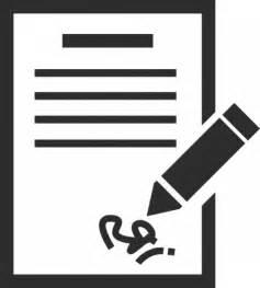 Signature Icon Symbol