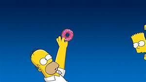 Homer and Bart Simpson Windows 10 Wallpaper