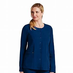 Signature Series by Grey's Anatomy Women's 2 Pocket Snap ...