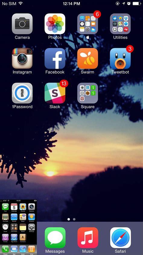 iphones display screenshot