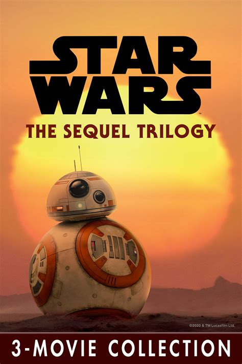 Star Wars: The Sequel Trilogy 3-Movie Collection now ...
