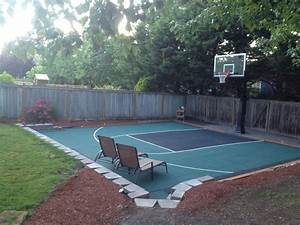 15 genius concepts of how to make backyard sport court