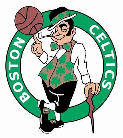 Celtics Boston Nba Clipart Vector Logos Sports