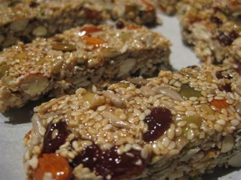 Healthy Seed Bar nut and seed bar recipe sparkrecipes
