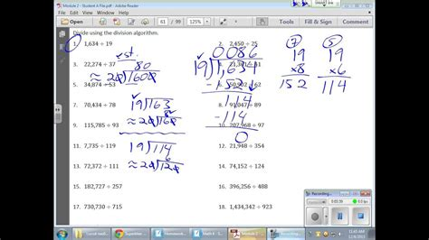 grade  module  lesson  youtube