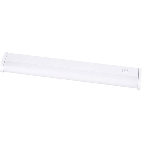 progress lighting 21 in white undercabinet fixture p7021