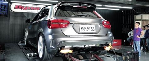 600 HP Mercedes-AMG GLA45 Is a World Record, Spits Flames ...