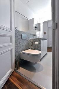 Implantation Salle De Bain : mini salle de bains maxi confort c t maison ~ Dailycaller-alerts.com Idées de Décoration