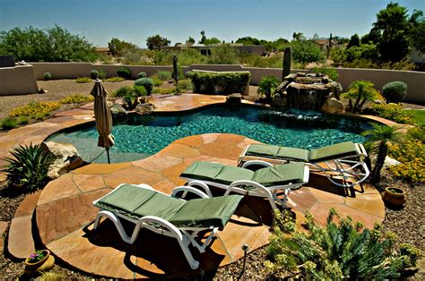 arizona backyard arizona backyard with pool ideas inspirations home furniture ideas