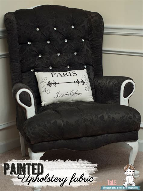Chair Upholstery Fabric Australia by Chair Transformation Tutorial How To Paint Upholstery