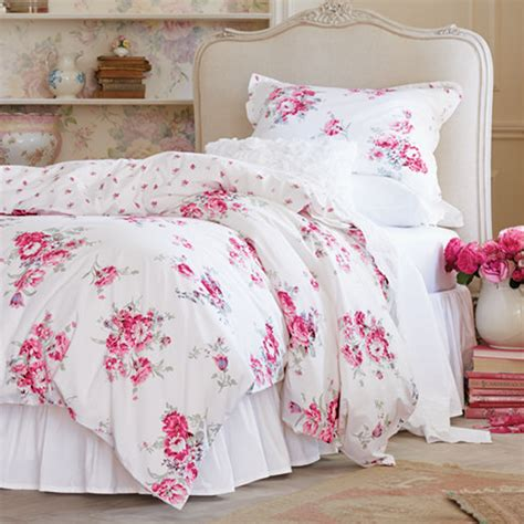 shabby chic union bedding quot spring in bloom quot simply shabby chic sunbleached floral duvet set available now exclusively at