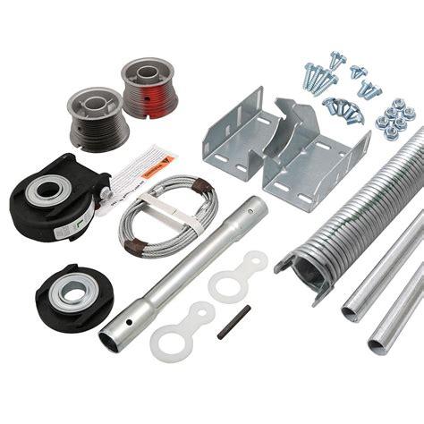garage door torsion kit clopay ez set torsion conversion kit for 8 ft x 7 ft