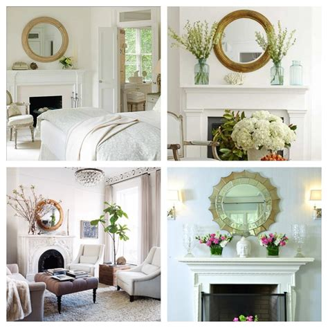 mirror mirror   wall  fireplace decorating ideas