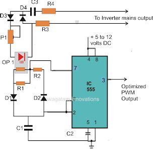 sine wave inverter using ic 555