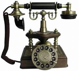 1894 Artesian Antique Telephone European Antique Brass Phones