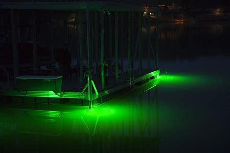underwater dock lights hydro glow ds 6o underwater led dock lighting green fish