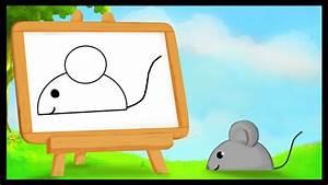 Comment Attraper Une Souris : comment dessiner une souris youtube ~ Dailycaller-alerts.com Idées de Décoration