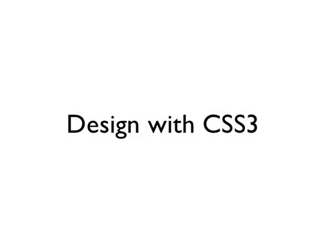 css3 for web designer how to design a visually appealing website