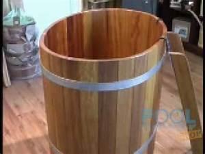Holz Für Sauna : sauna tauchbecken aus kambala holz 100 x 72 cm youtube ~ Eleganceandgraceweddings.com Haus und Dekorationen