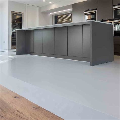 resin flooring kitchen designer home contemporary resin floor 1889