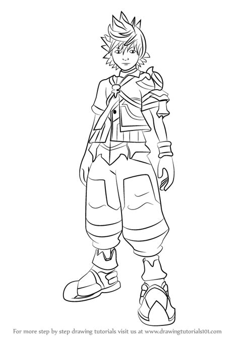 step  step   draw ventus  kingdom hearts