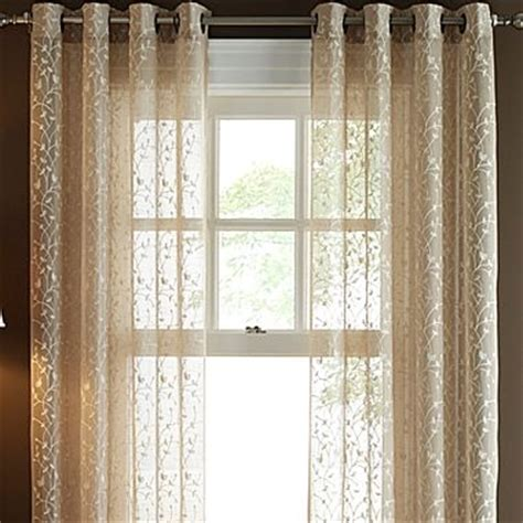 linden grommet curtains vineyard and tops on