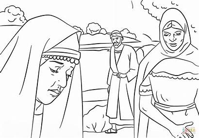 Coloring Paul Lydia Pages Printable Apostle Bible
