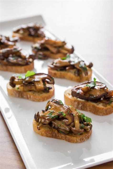 canapes recipes brushcetta are the appetizer nom