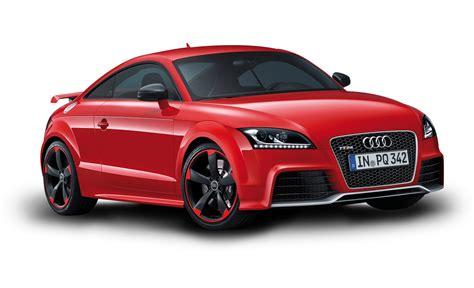 Red Audi Car Png Image