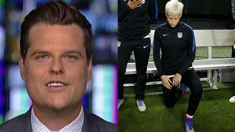 Matt Gaetz calls out US Soccer for reversal on anthem ...