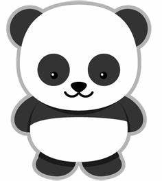 download panda bear face template picture in many sizes With panda bear cake template