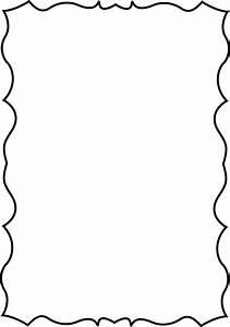 Squiggle Page Border   Border designs   Pinterest   Clip ...