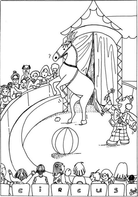 coloriage cheval a imprimer