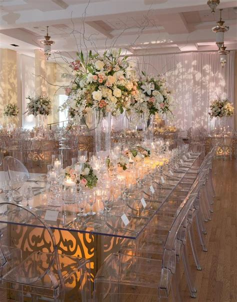 best 25 ghost chair wedding ideas on