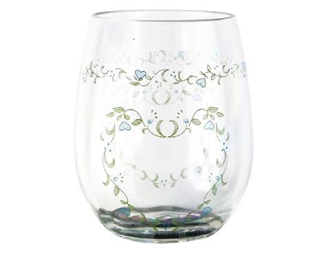 4 Corelle 16-oz Stemless Wine Glass