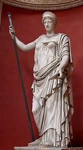 Hera_Barberini_Pio-Clementino. Ancient Roman statue of ...