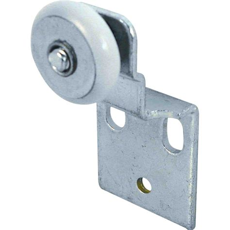 prime line bypass closet door top hung back rollers and