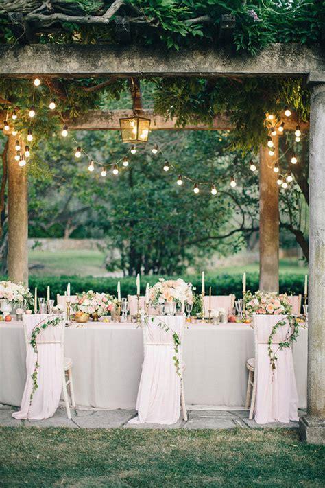 intimate and european wedding garden wedding