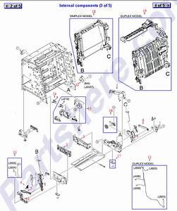 Color Laserjet 3600n Diagram