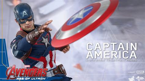 captain america hot toys avengers  age  ultron desktop