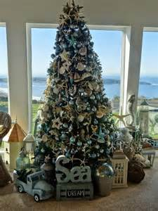 everything coastal fifteen of our favorite coastal christmas trees