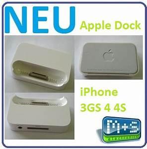 Ladestation Iphone 4 : original apple iphone dock ladestation dockingstation f r ~ Sanjose-hotels-ca.com Haus und Dekorationen