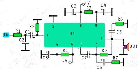 Stk Amplifier Schematic Subwoofer Bass
