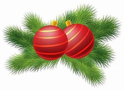 Christmas Clipart Balls Decor Decoration Transparent Background